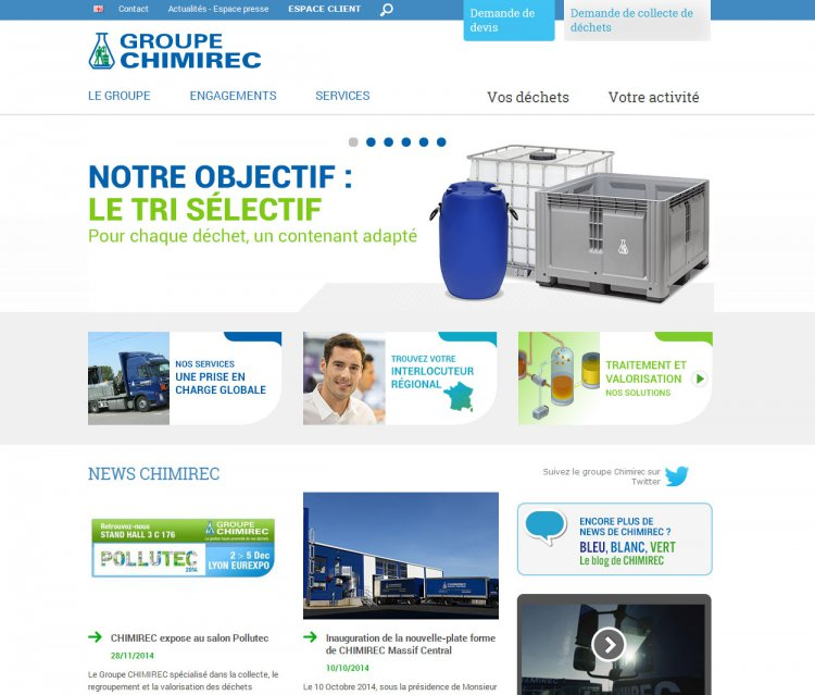 site web de CHIMIREC