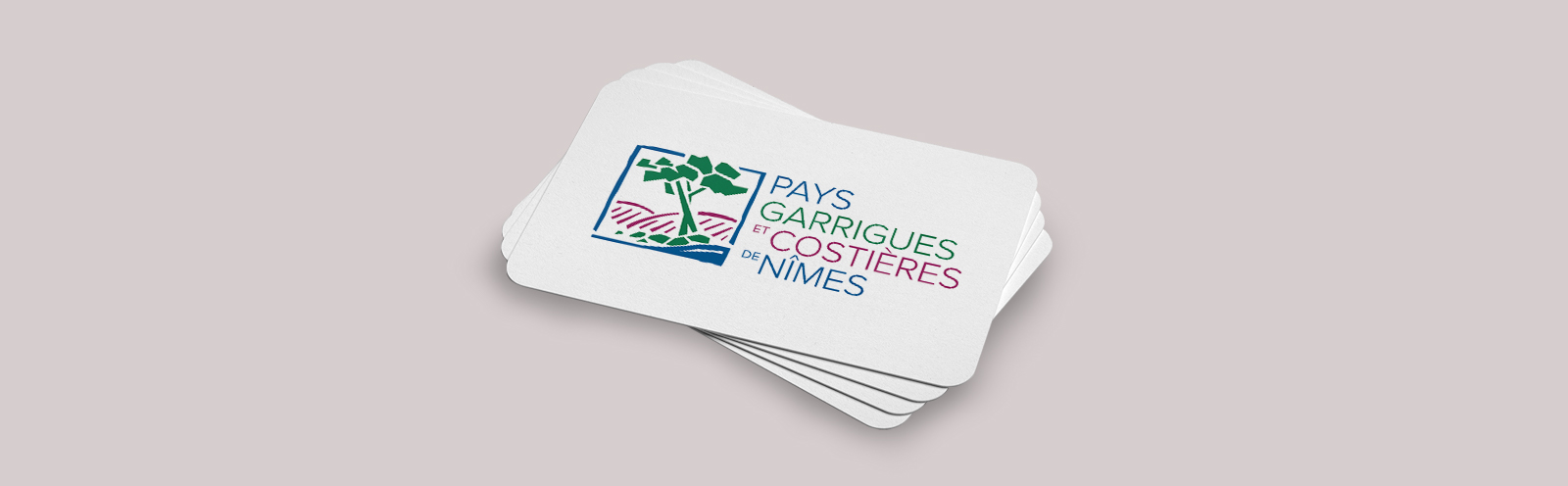 Logo - Pays garrigues et costières de Nimes