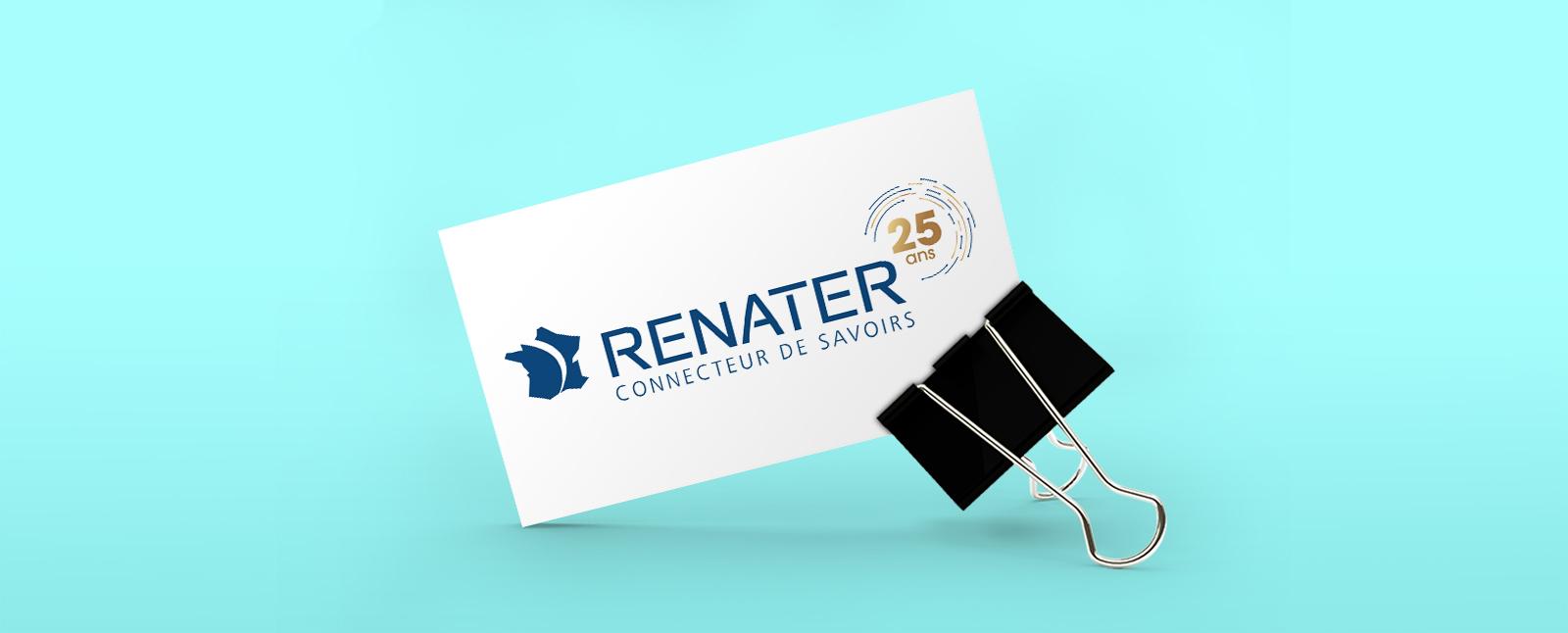 Logo anniversaire - RENATER