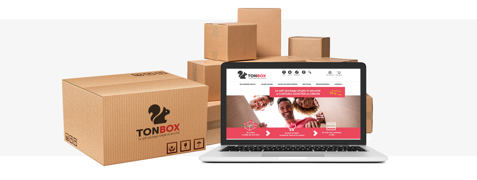Site e-commerce TONBOX