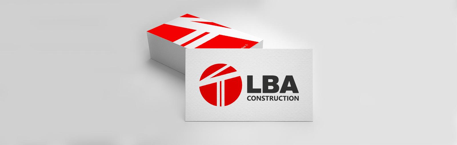 Logo - LBA Construction