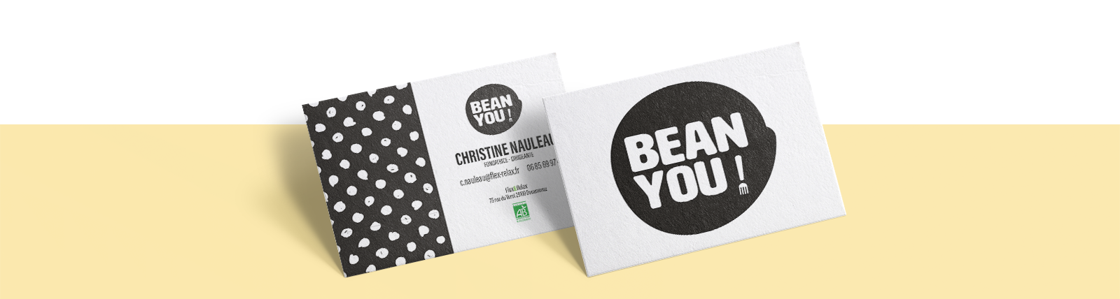 Cartes commerciales BEANYOU