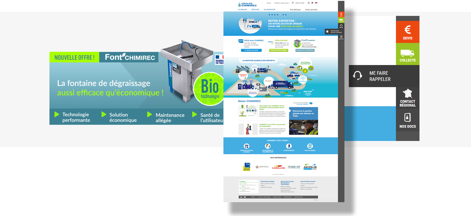 Site web Chimirec