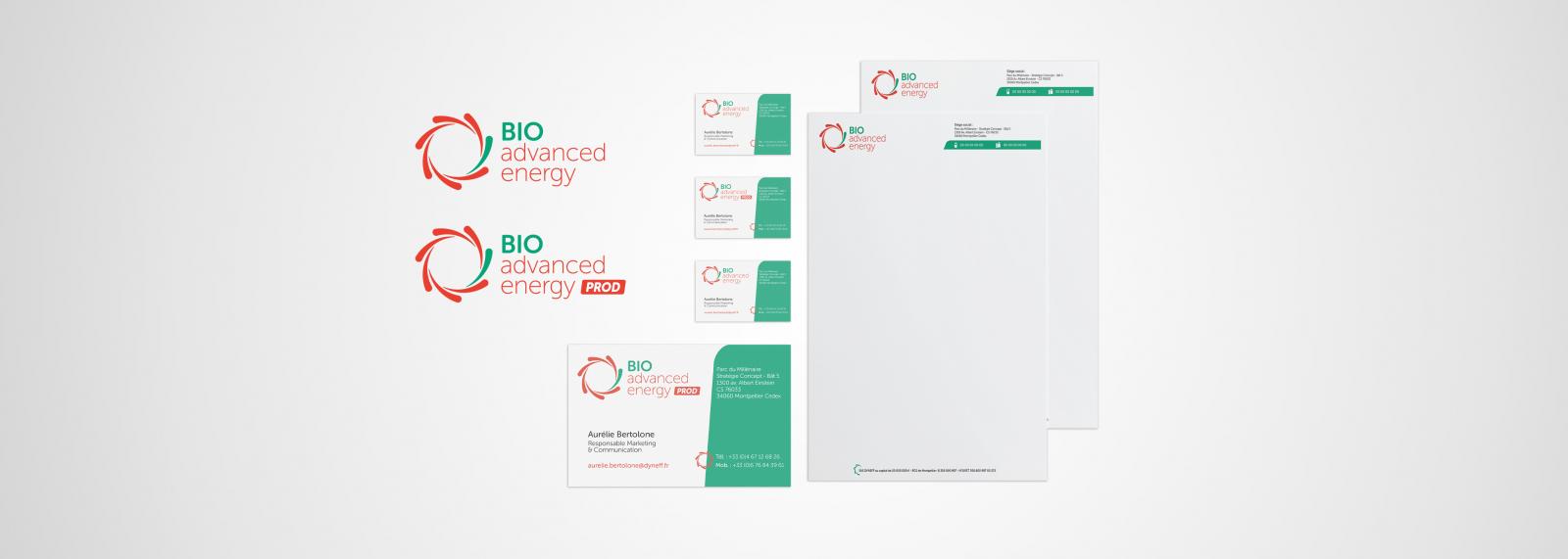 Charte graphique BioAdvance Energy