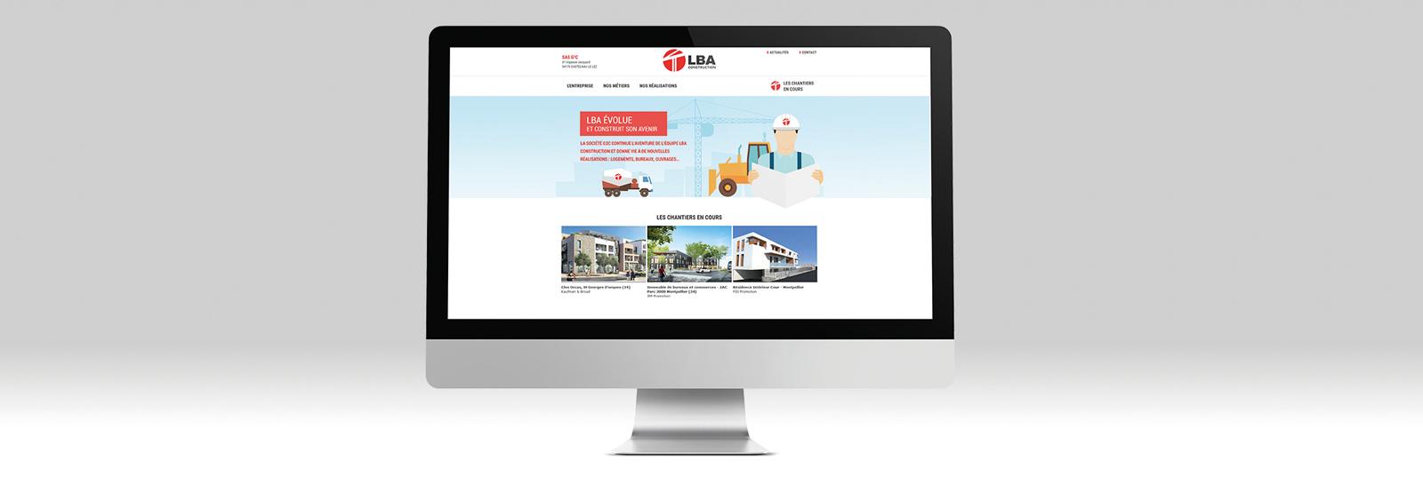 Site internet de LBA
