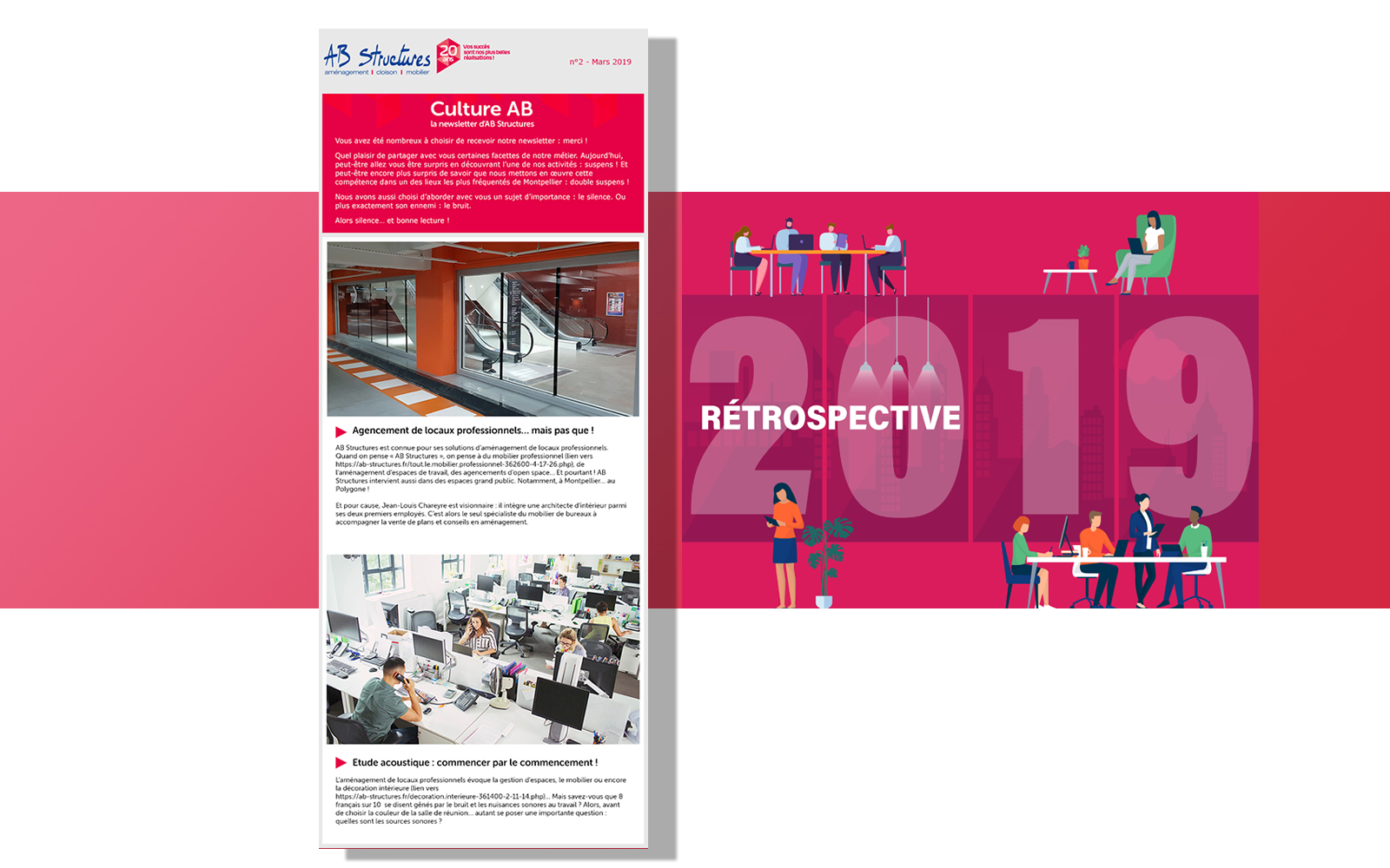 Newsletter d'AB STRUCTURES
