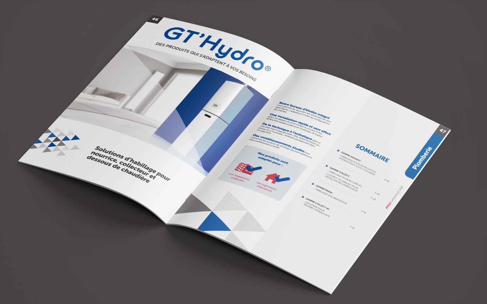 Pages intérieures catalogue produit