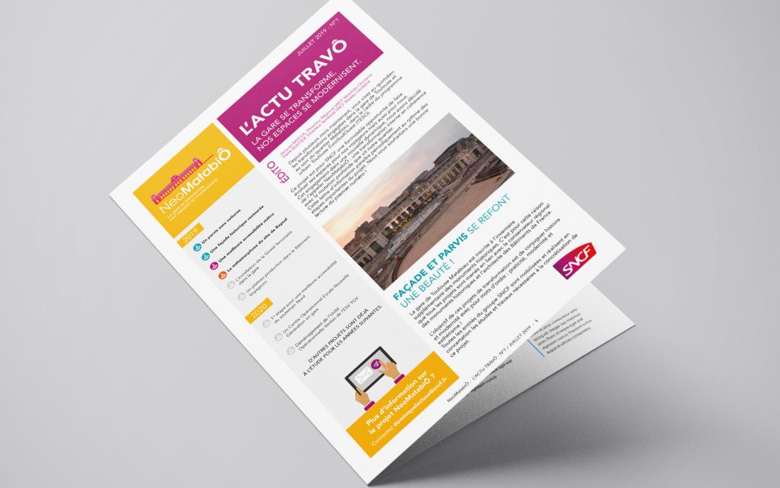 Newsletter SNCF
