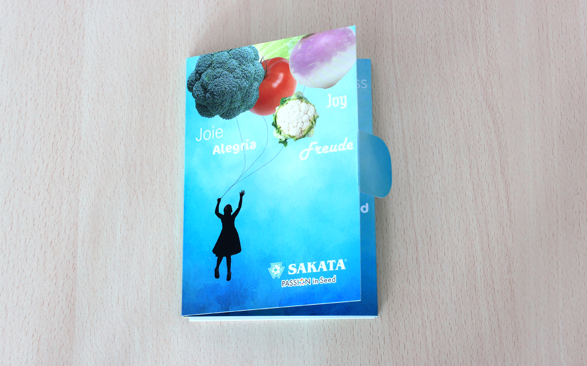 Carte de voeux SAKATA