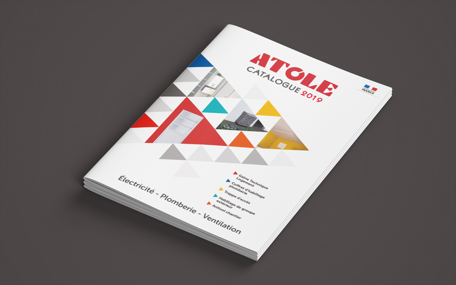 Couverture du catalogue ATOLE - 2019