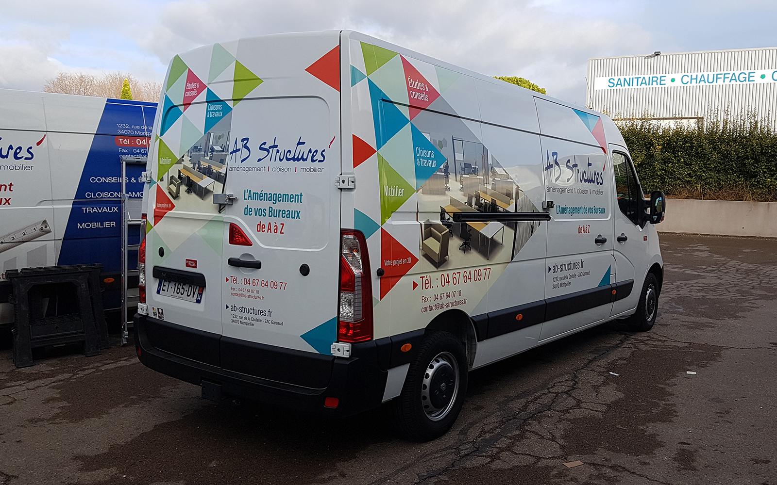Covering fourgon professionnel
