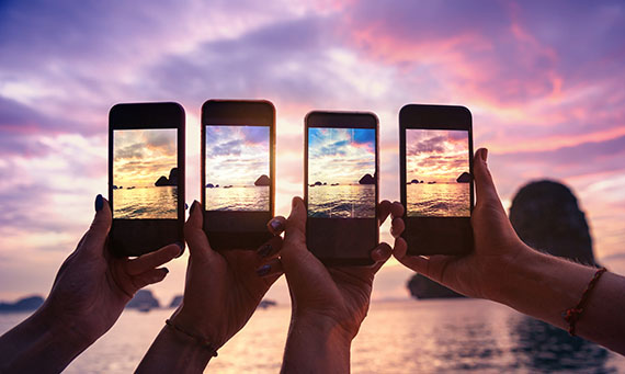 Instagram avec ou sans filtres