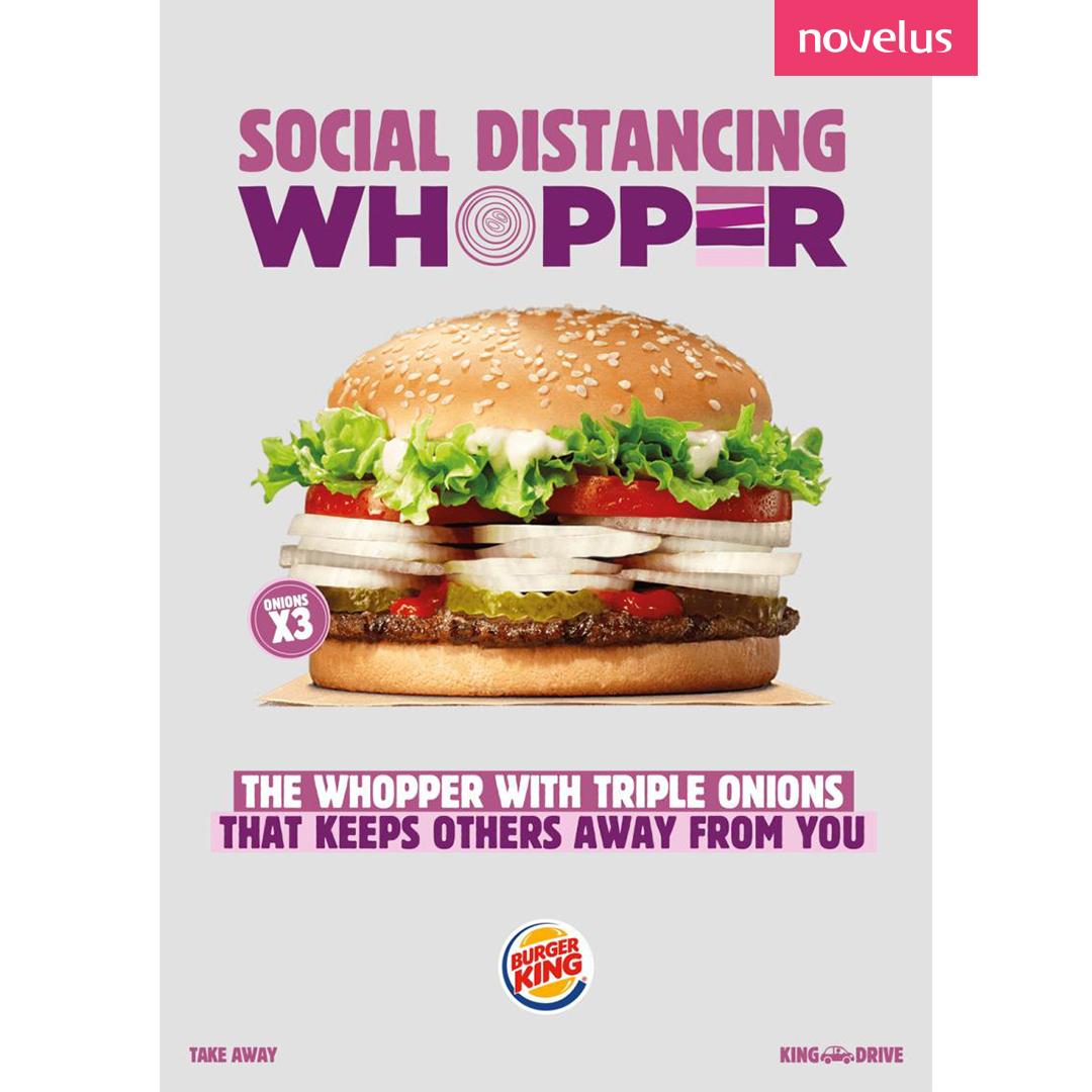 publicité BurgerKing