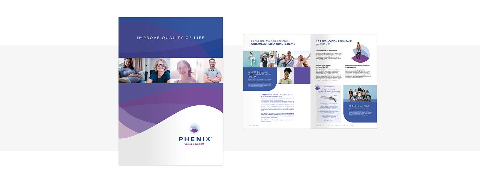 Brochure 8 pages PHENIX