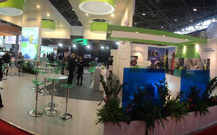 POLLUTEC 2014, stand CHIMIREC