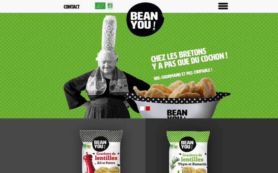Site responsive - BEAN YOU