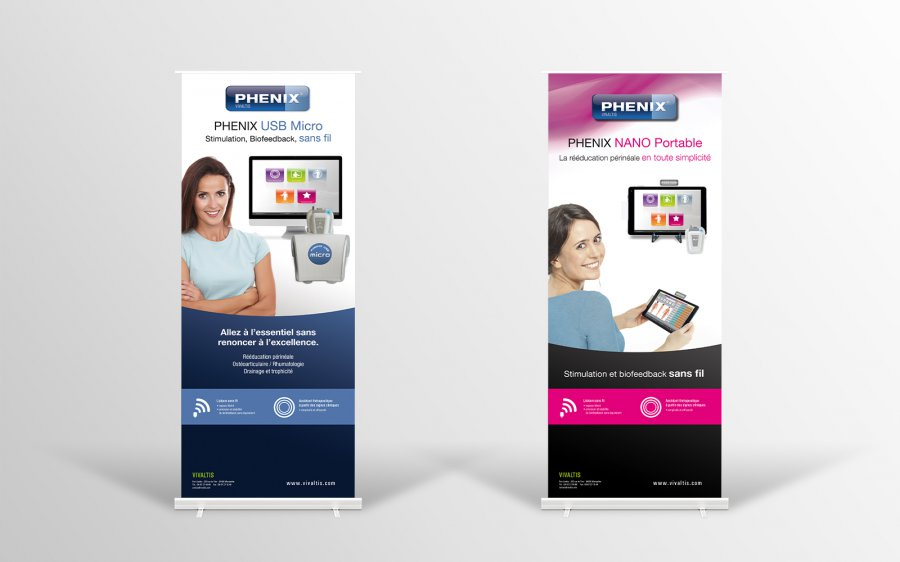 Stand roll-up PHENIX