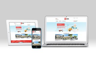 Site responsive - LBA CONSTRUCTION