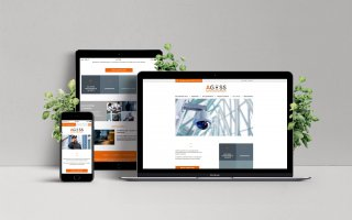Site internet responsive - AGOSS